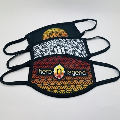 Jammin' Printed Cloth HNL Mask