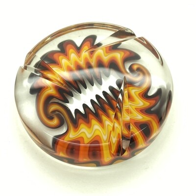STR8 Glass x 8MM Glass Collab Spinner Coin #2
