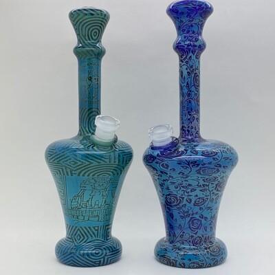 Galactic Glass Fume Tech Vase Rig - Large