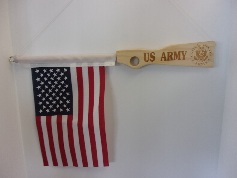 Laser Engraved Military Hanging