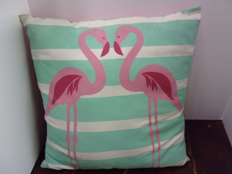 Flamingo Indoor/Outdoor Pillow