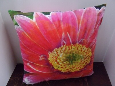 Bright Floral Indoor/Outdoor Pillow