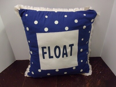 Float Pillow with Fringe