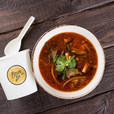 Кисло-острый китайский суп