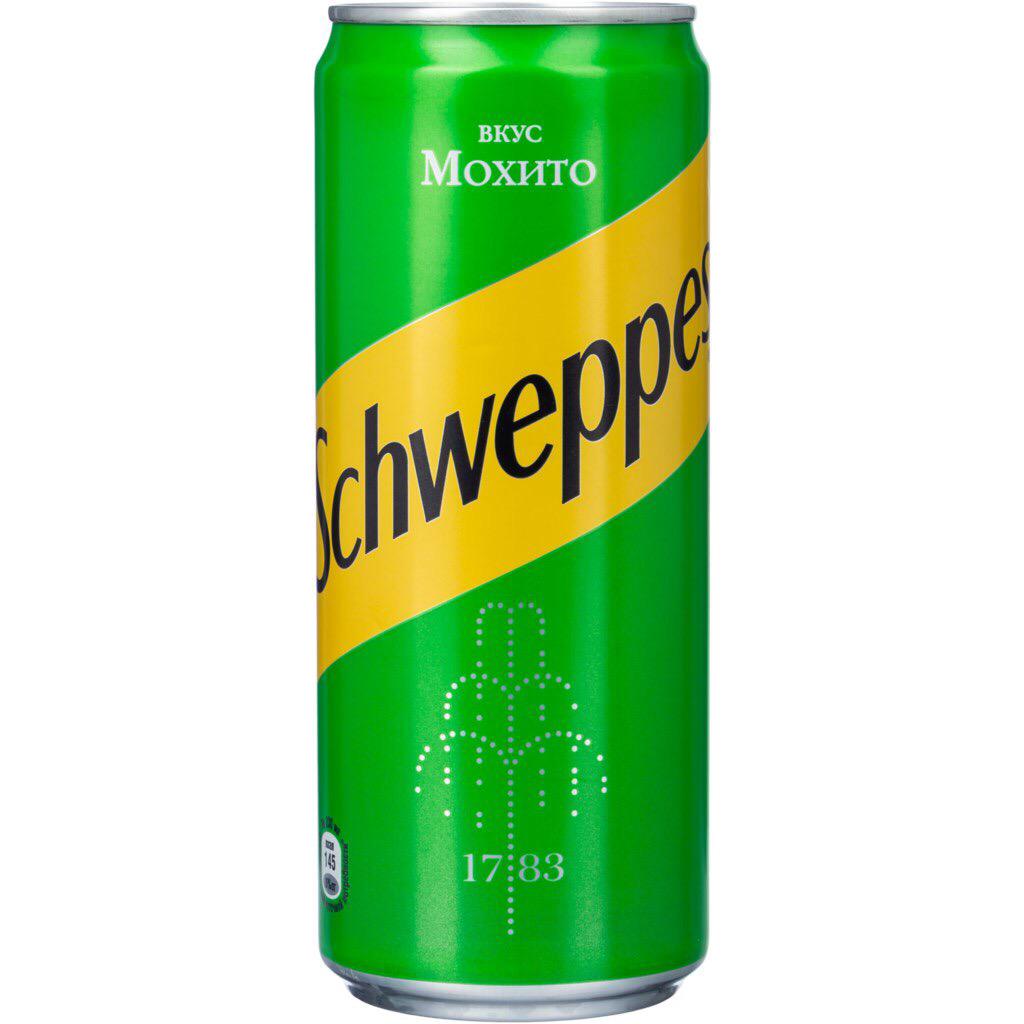 Schweppes мохито