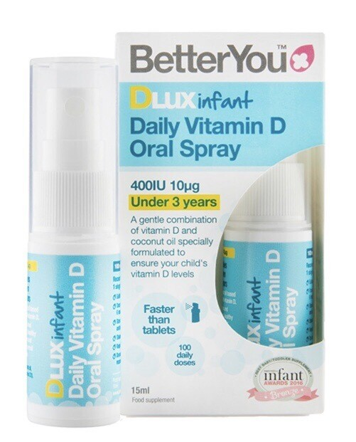 Better You Infant Vitamin D Oral Spray