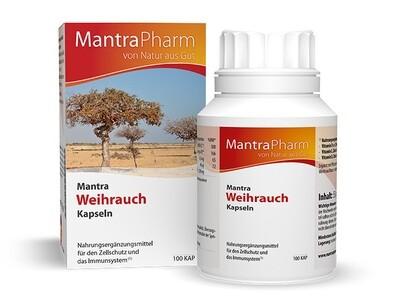 Mantra Weihrauch | Vitamin E  Zink und Selen | 100 Kapseln