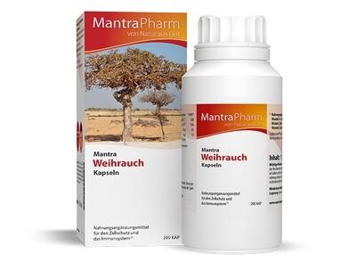 Mantra Weihrauch | Vitamin E  Zink und Selen | 200 Kapseln