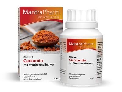 Mantra Curcumin mit Myrrhe und Ingwer  | 60 Kapseln