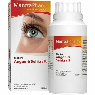 Mantra Augen & Sehkraft | 120 Kapseln