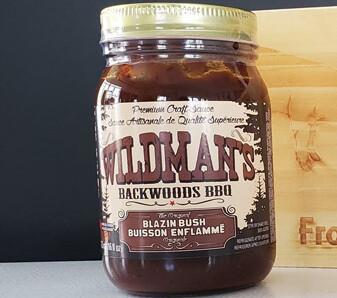 WILDMAN'S BLAZIN BUS BBQ SAUCE