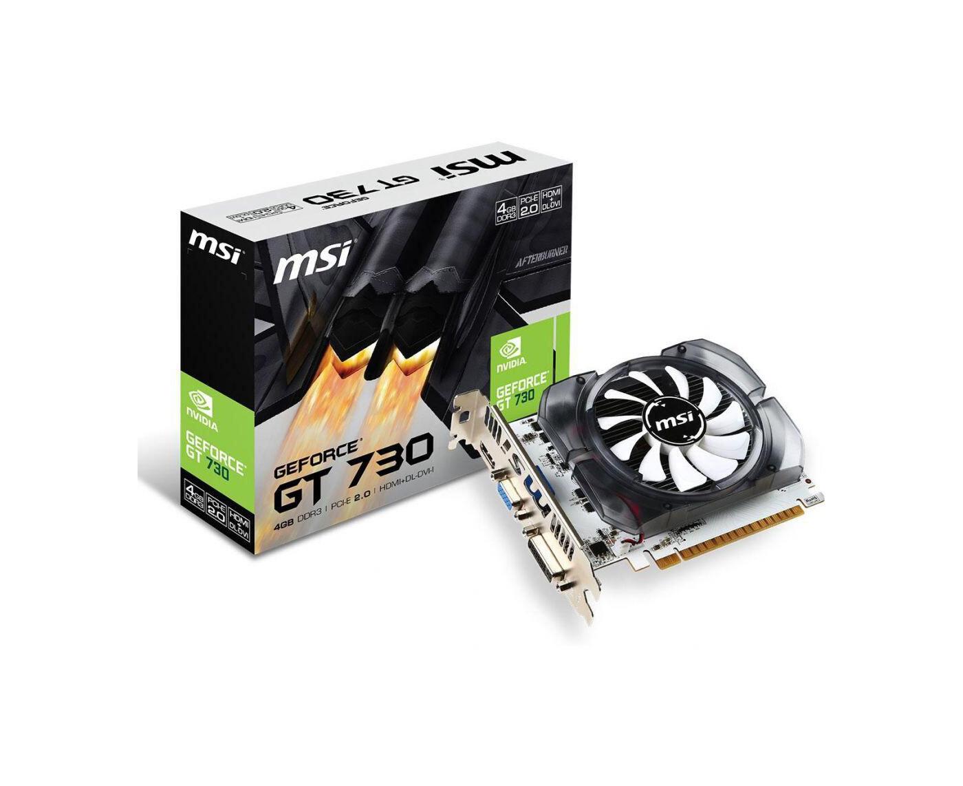 Видеокарта MSI GeForce GT 730 - 2Гб