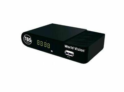 Цифровая приставка DVB-T2 WORLD VISION T65