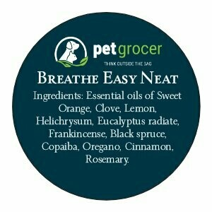 Pet Grocer Essential Oil - Breathe Easy