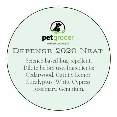 Pet Grocer EO - Defense 2020 (NEAT Bug Repellent)