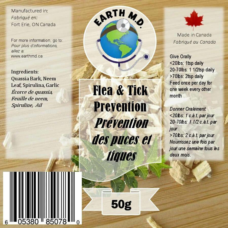 Earth MD - Flea & Tick Prevention