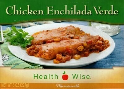 Meal Dinner Chicken Enchilada Verde Shelf Stable Entree Healthwise Weight Loss (compare to Ideal Protein)
