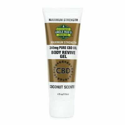 CBD Body Revive Gel 4 Ounces Uncle Bud
