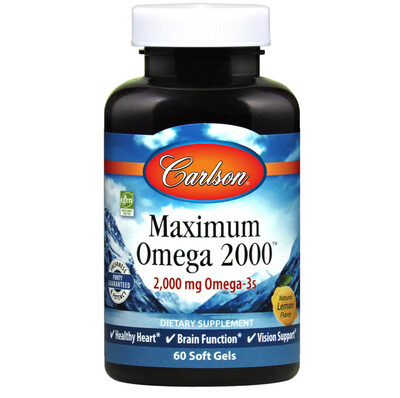 Maximum Omega 2000 60gel Carlson