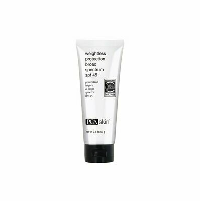 PCA Weightless Protection SPF45 2.1oz