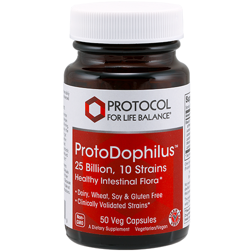 Protodophilius Probiotic 25bil 50tab Protocol for Life Balance