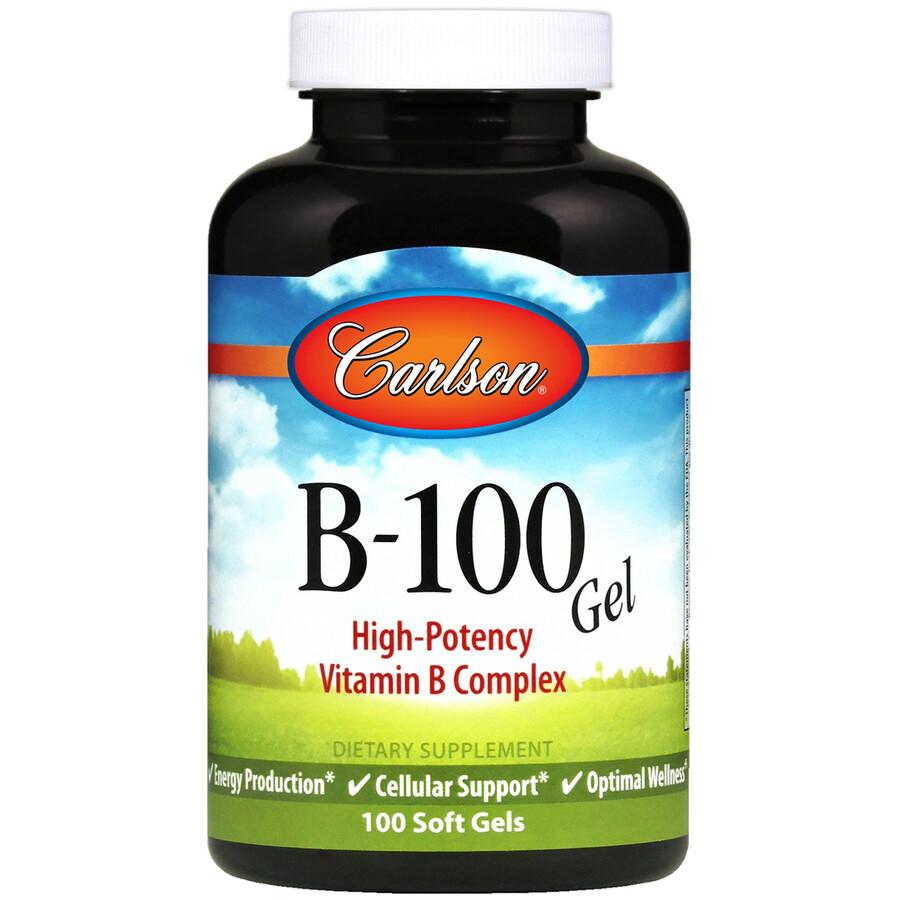 Vitamin B100 100gel Carlson
