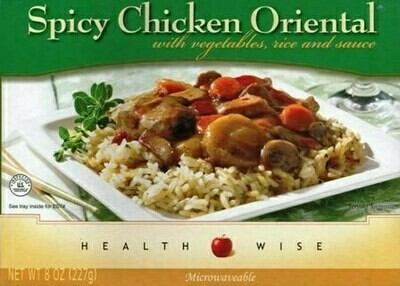 Meal Dinner Spicy Oriental Chicken Shelf Stable Entree Healthwise Weight Loss (compare to Ideal Protein)