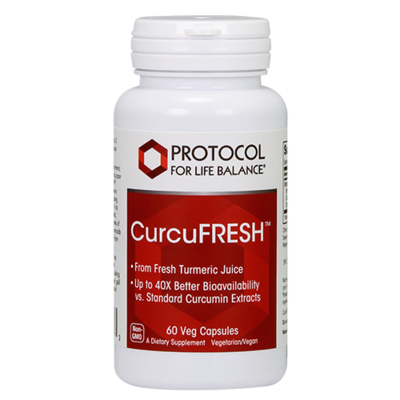 Curcufresh Curcumin 500mg 60caps Protocol for Life Balance