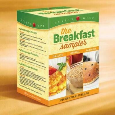 Breakfast Variety Healthwise Weight Loss Box of 7 (compare to Ideal Protein)