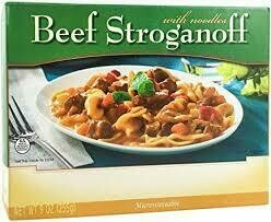 Meal Dinner Beef Stroganoff With Noodles Shelf Stable Entree Healthwise Weight Loss (compare to Ideal Protein)