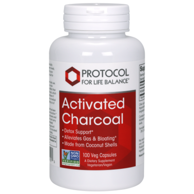Activated Charcoal 100 Cap Protocol for Life Balance