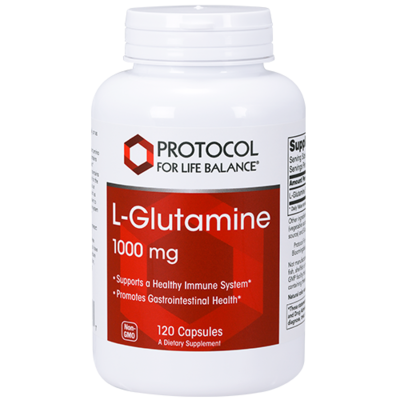 Glutamine 1000mg 120cap Protocol for Life Balance