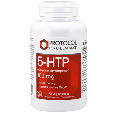 5-HTP 100mg 90 Cap Protocol for Life Balance