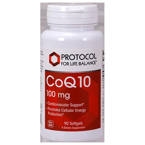 CoQ10 100mg 90gel Protocol for Life Balance