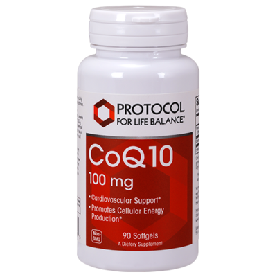CoQ10 100mg 90gel Protocol for Life Balance