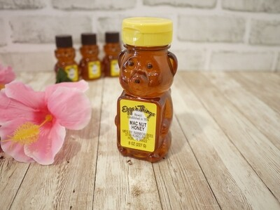 Hawaii honey in bear bottle (Mac nut / 8oz)