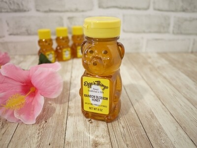Hawaii honey in bear bottle (Rainbow Blossom / 8oz)