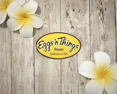 Sticker[Eggs 'n Things Logo]