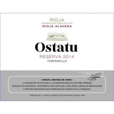 Ostatu Rioja Reserva 2013