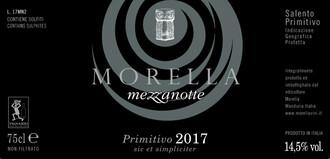 Morella Mezzonotte Primitivo 2017