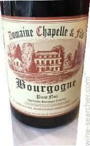Domaine Chapelle & Fils Bourgogne Rouge 2017