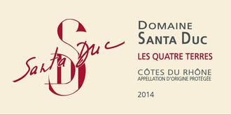 Domaine Santa Duc Les Quatre Terres Côtes du Rhône 2017