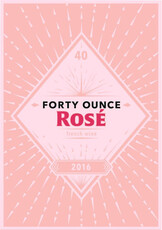 Julien Braud, Forty Ounce Rosé 2018 1L