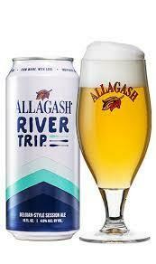 Allagash River Trip Belgian Pale