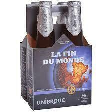 Unibroue, La Fin Du Monde Belgian Style Triple Ale 4 x 12oz