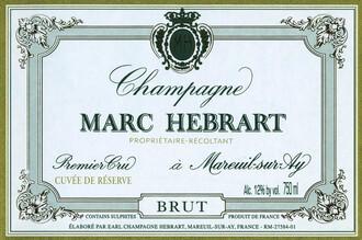 Marc Hébrart, Champagne 1er Cru Brut Cuvée de Réserve