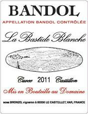 Bastide Blanche Bandol Rouge 2017
