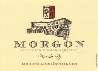 Louis-Claude Desvignes Morgon Côte du Py 2018