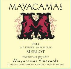Mayacamas Merlot 2014