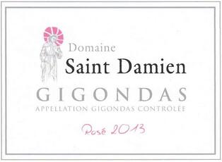 Domaine Saint-Damien Gigondas Rosé 2019